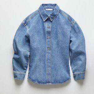 Luxurious limited edition vintage denim jean shirt